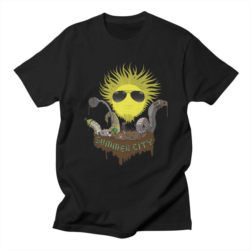 Summer city Men's T-Shirt by juliusllopis's Artist Shop