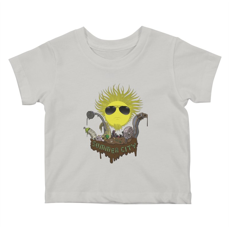 Summer city Kids Baby T-Shirt by juliusllopis's Artist Shop