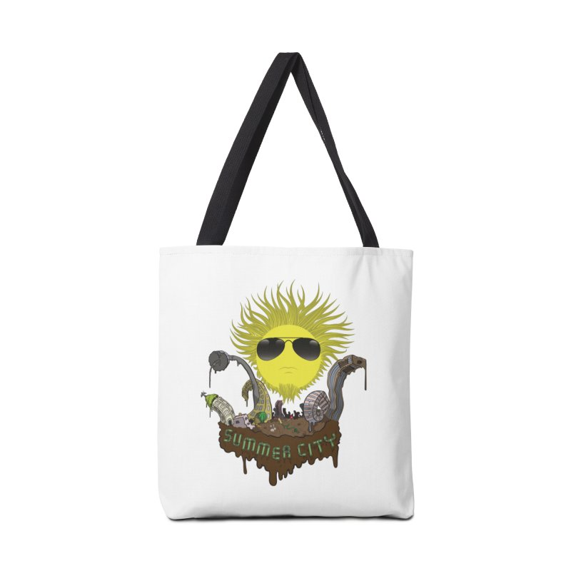 Summer city Accessories Bag by juliusllopis's Artist Shop