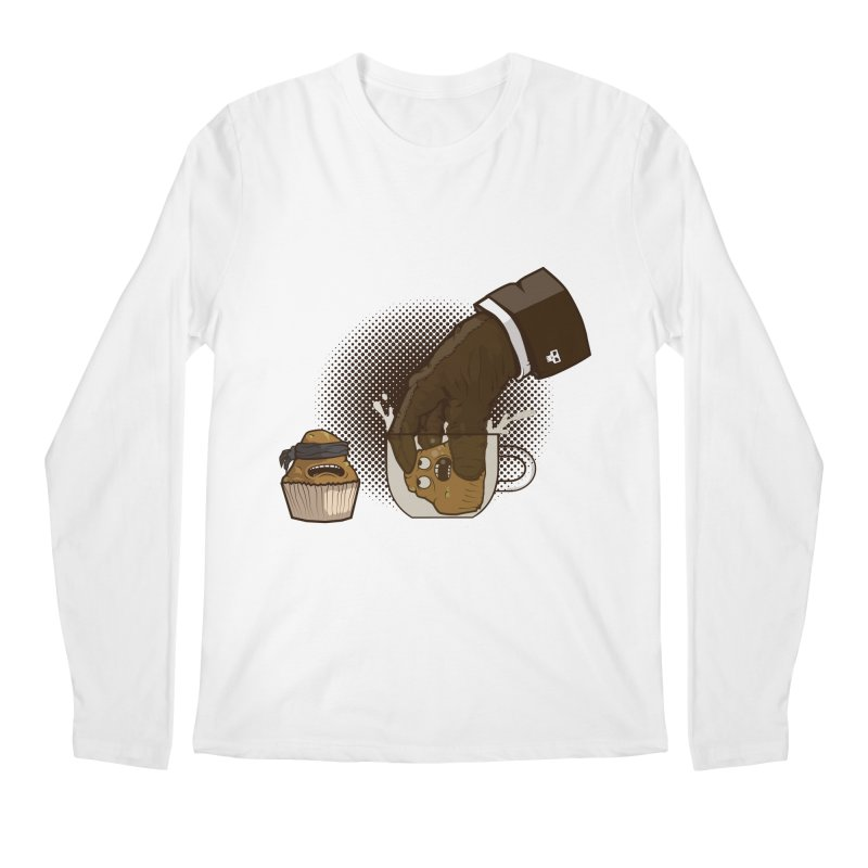Breakfast killer Men's Regular Longsleeve T-Shirt by juliusllopis's Artist Shop