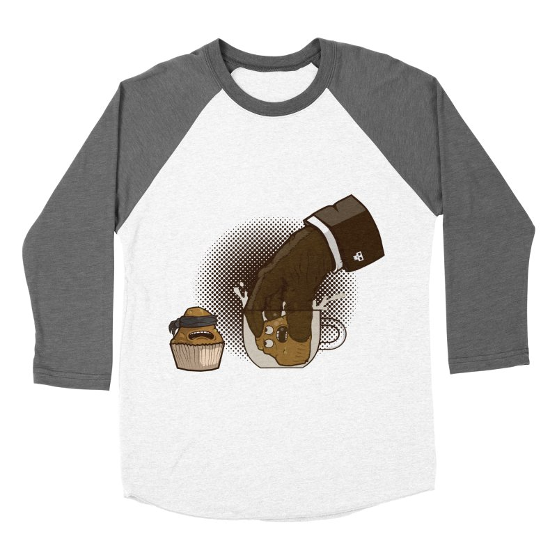 Breakfast killer Men's Baseball Triblend T-Shirt by juliusllopis's Artist Shop