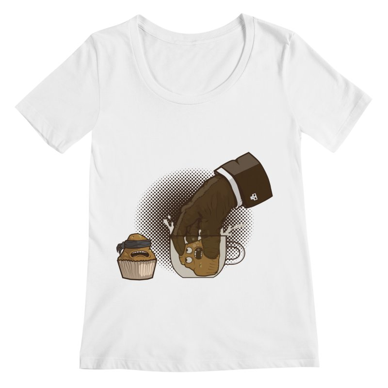Breakfast killer Women's Scoopneck by juliusllopis's Artist Shop