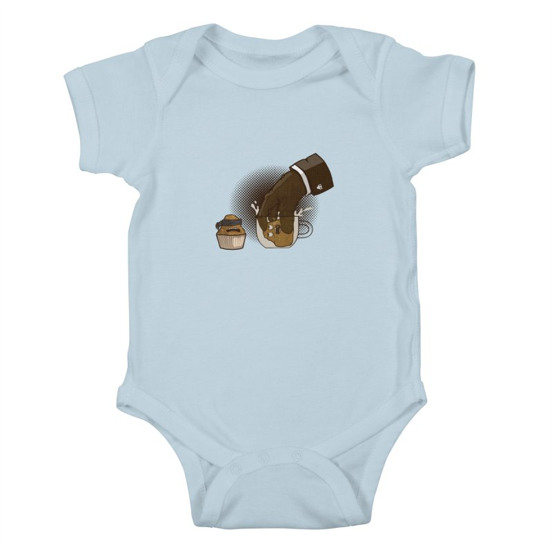 Breakfast killer Kids Baby Bodysuit by juliusllopis's Artist Shop