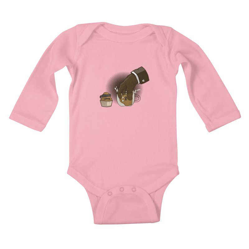 Breakfast killer Kids Baby Longsleeve Bodysuit by juliusllopis's Artist Shop