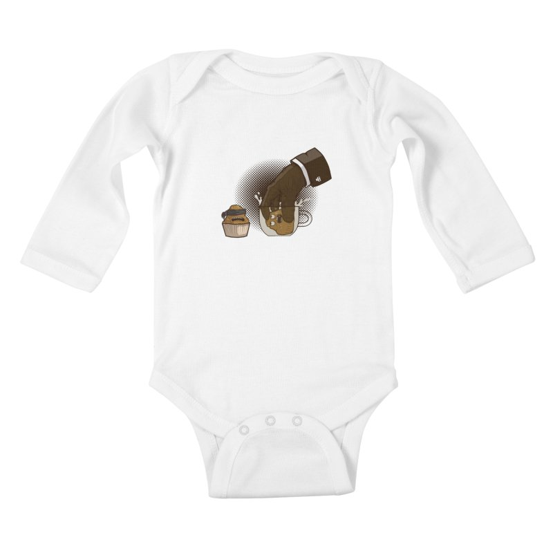 Breakfast killer Kids Baby Longsleeve Bodysuit by juliusllopis's Artist Shop