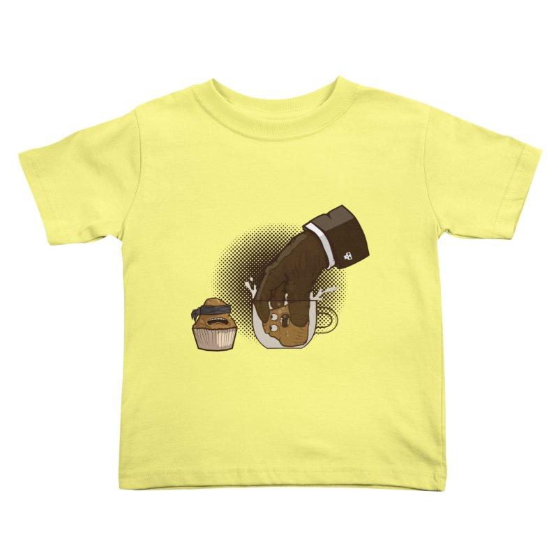 Breakfast killer Kids Toddler T-Shirt by juliusllopis's Artist Shop