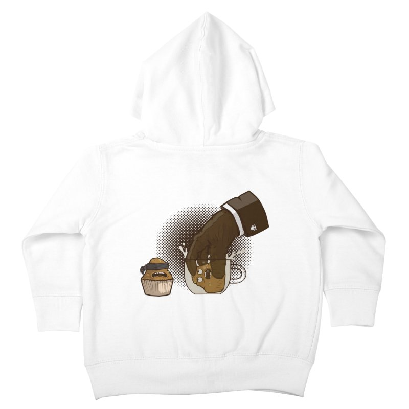 Breakfast killer Kids Toddler Zip-Up Hoody by juliusllopis's Artist Shop