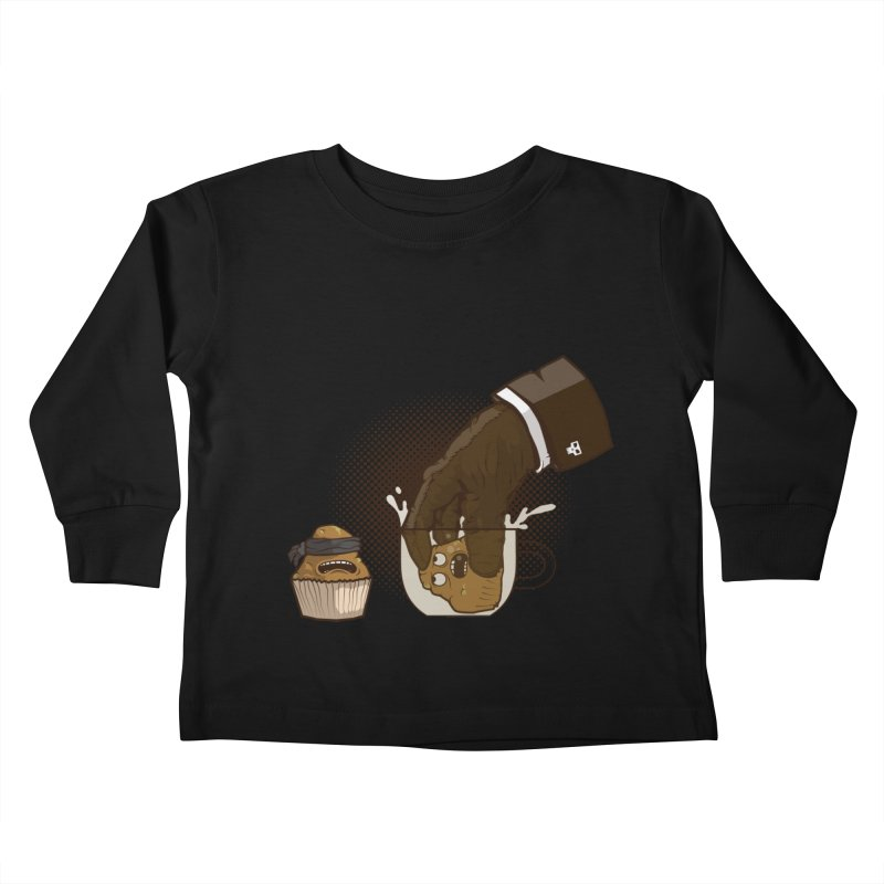 Breakfast killer Kids Toddler Longsleeve T-Shirt by juliusllopis's Artist Shop