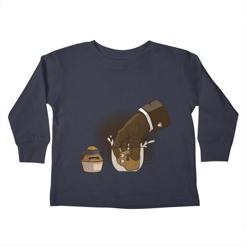 Breakfast killer Kids Toddler Longsleeve T-Shirt by juliusllopis's Artist Shop