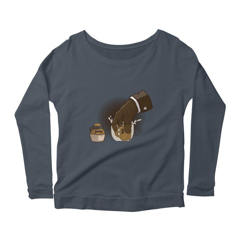 Breakfast killer Women's Scoop Neck Longsleeve T-Shirt by juliusllopis's Artist Shop