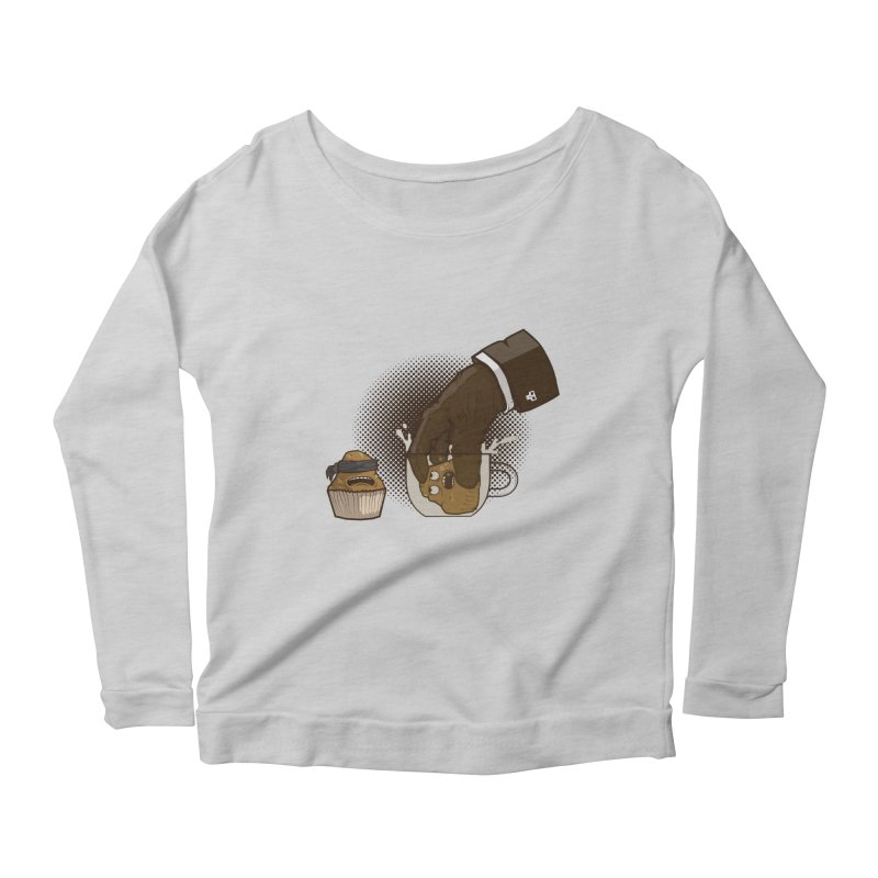 Breakfast killer Women's Longsleeve Scoopneck  by juliusllopis's Artist Shop