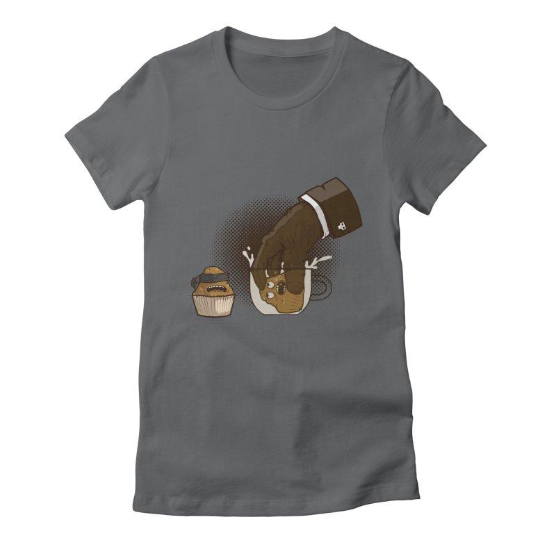 Breakfast killer Women's Fitted T-Shirt by juliusllopis's Artist Shop