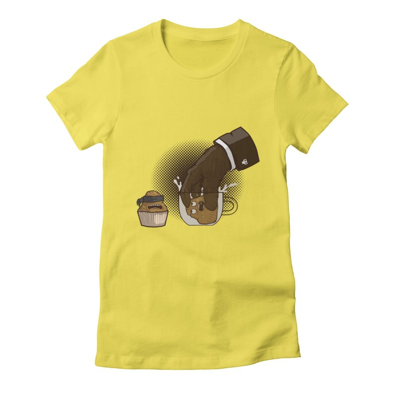 Breakfast killer Women's Fitted T-Shirt by juliusllopis's Artist Shop