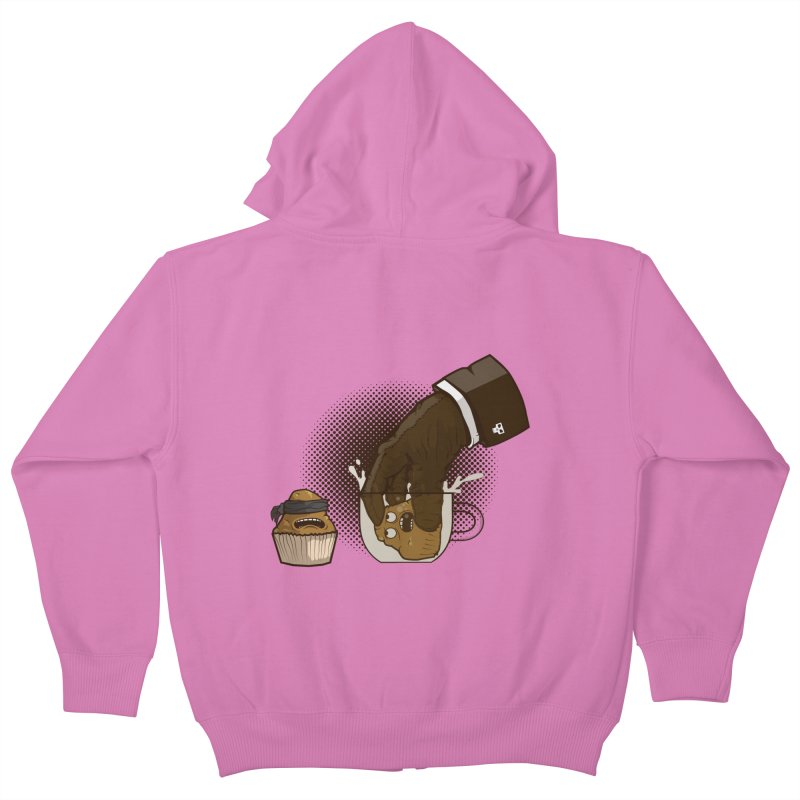 Breakfast killer Kids Zip-Up Hoody by juliusllopis's Artist Shop