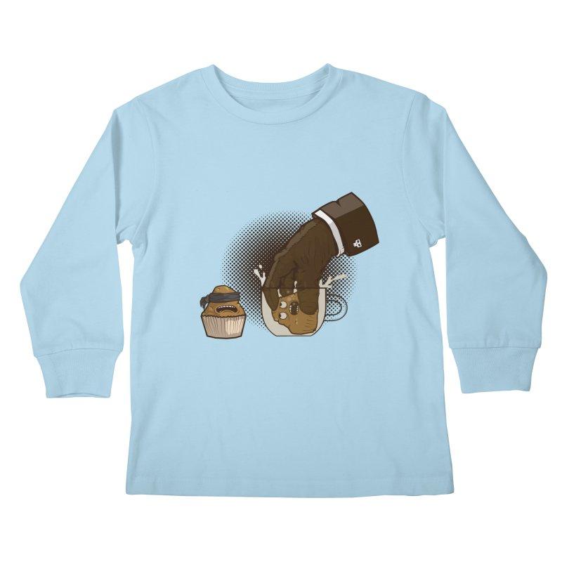 Breakfast killer Kids Longsleeve T-Shirt by juliusllopis's Artist Shop