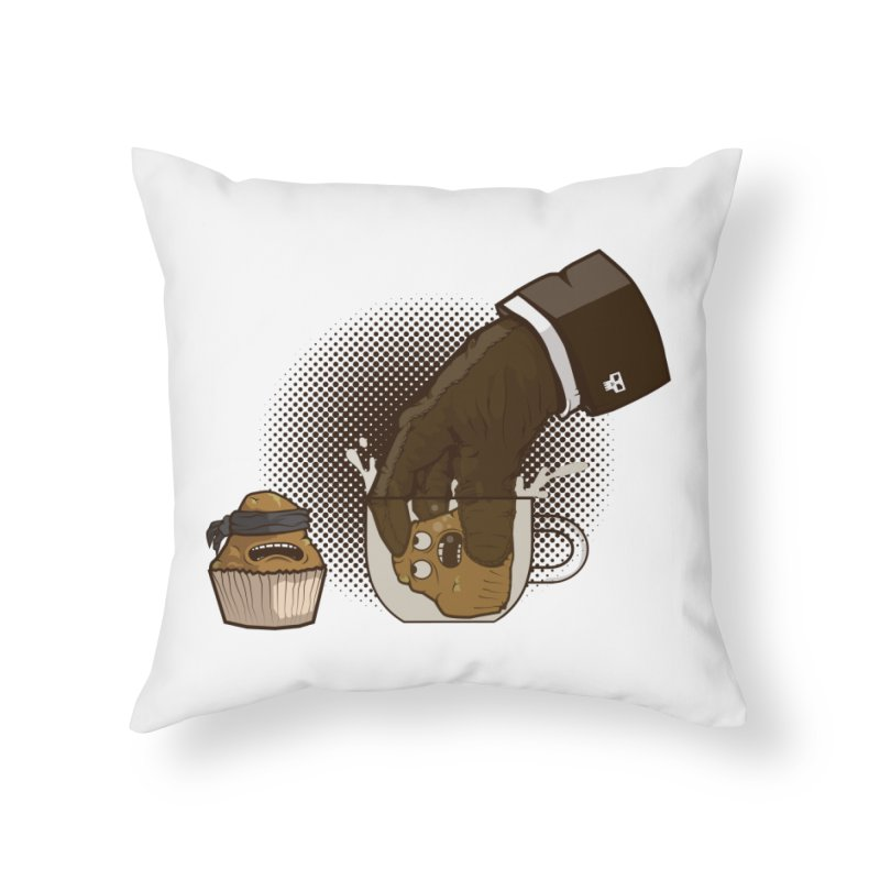 Breakfast killer Home Throw Pillow by juliusllopis's Artist Shop