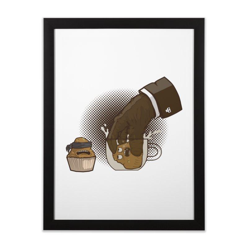 Breakfast killer Home Framed Fine Art Print by juliusllopis's Artist Shop