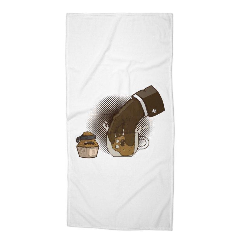 Breakfast killer Accessories Beach Towel by juliusllopis's Artist Shop