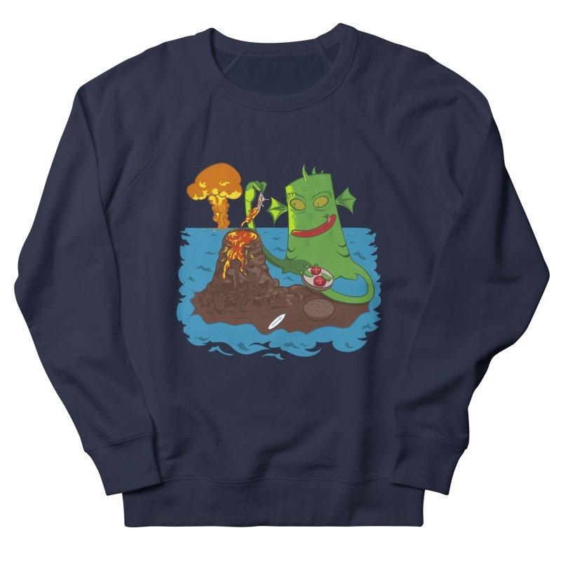 Sea monter burguer Women's Sweatshirt by juliusllopis's Artist Shop