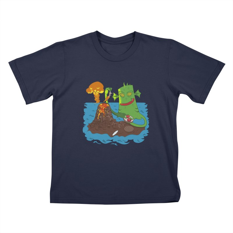 Sea monter burguer Kids Toddler T-Shirt by juliusllopis's Artist Shop