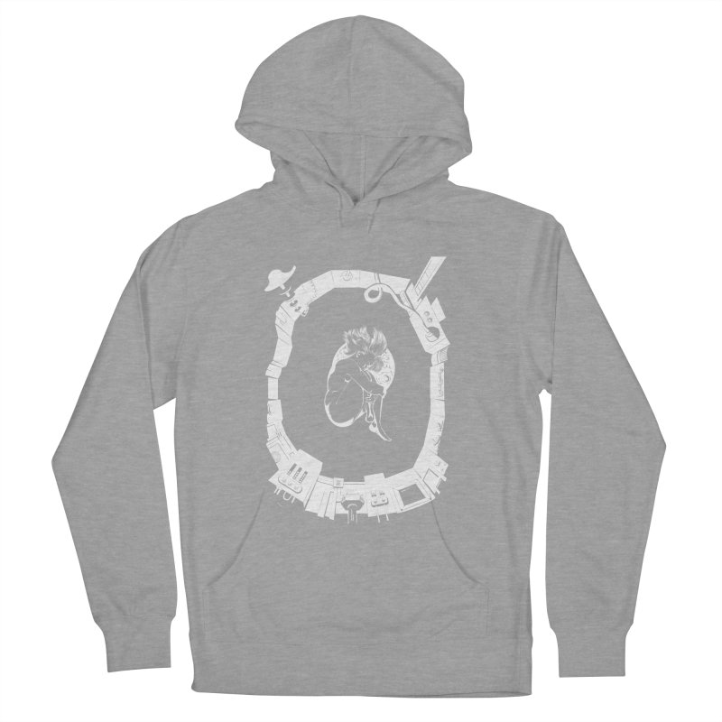 Alone in space Women's Pullover Hoody by juliusllopis's Artist Shop
