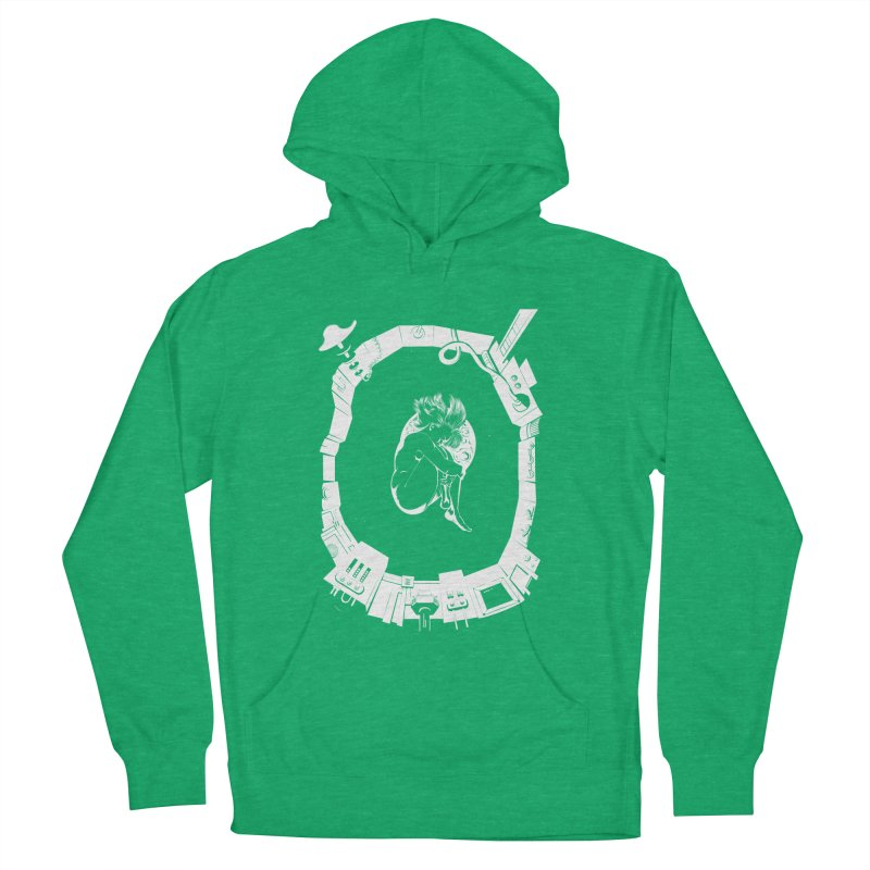 Alone in space Men's Pullover Hoody by juliusllopis's Artist Shop