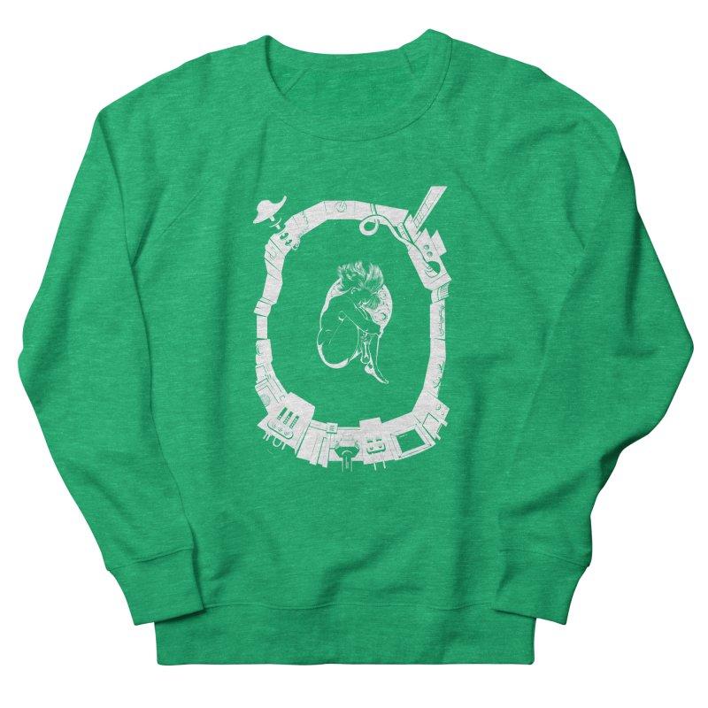 Alone in space Women's Sweatshirt by juliusllopis's Artist Shop