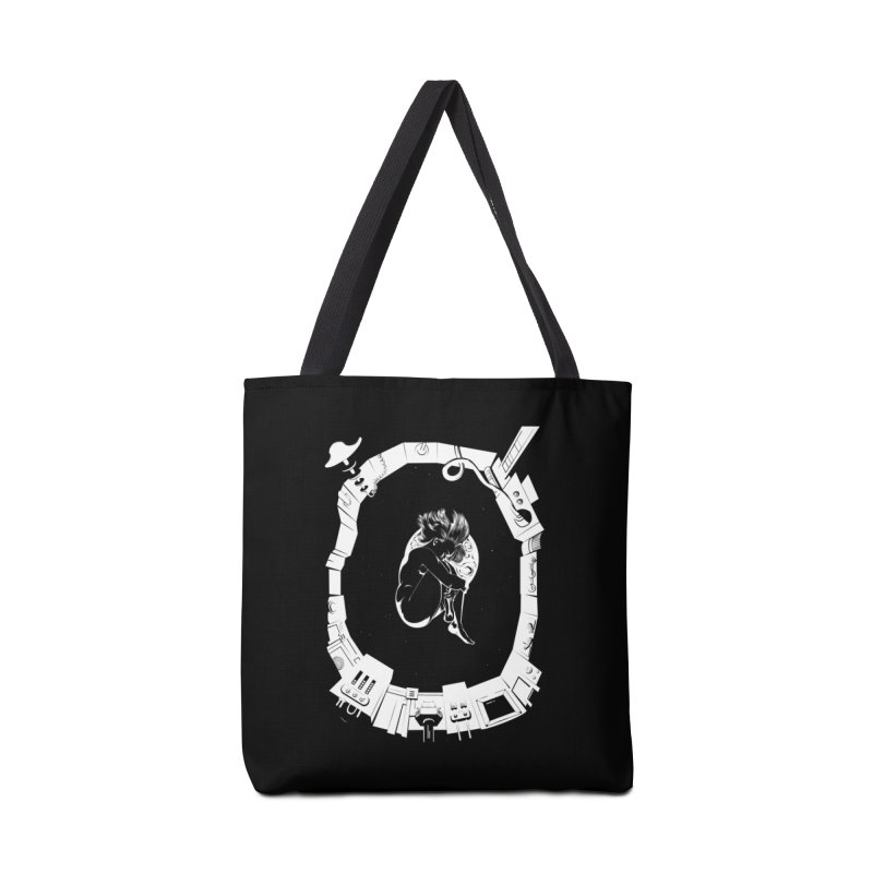 Alone in space Accessories Bag by juliusllopis's Artist Shop