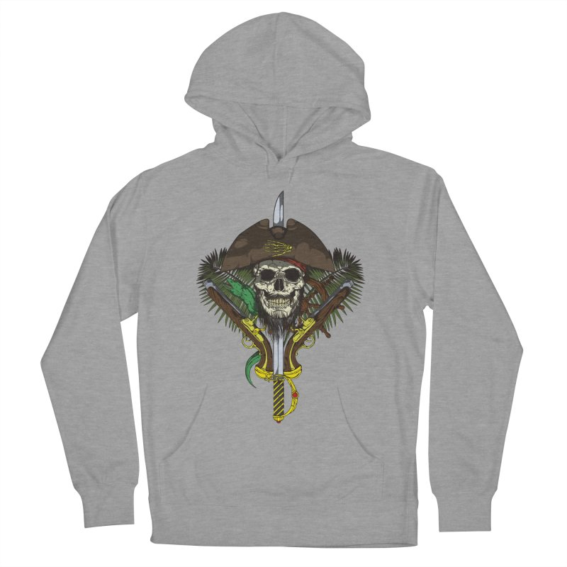 Pirate skull Women's Pullover Hoody by juliusllopis's Artist Shop