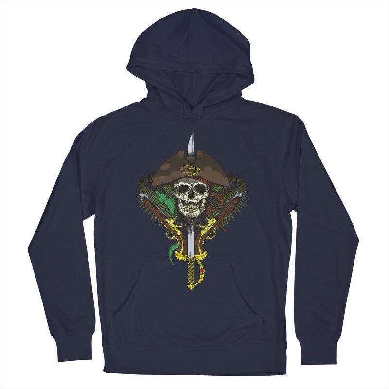 Pirate skull Women's Pullover Hoody by juliusllopis's Artist Shop