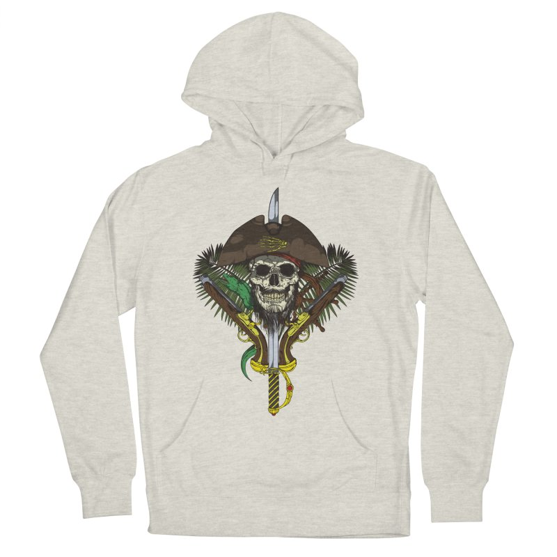 Pirate skull Men's Pullover Hoody by juliusllopis's Artist Shop