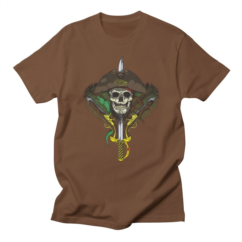 Pirate skull Men's T-shirt by juliusllopis's Artist Shop
