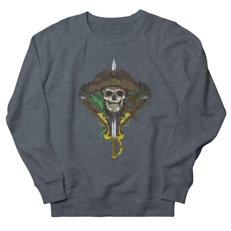 Pirate skull Men's Sweatshirt by juliusllopis's Artist Shop