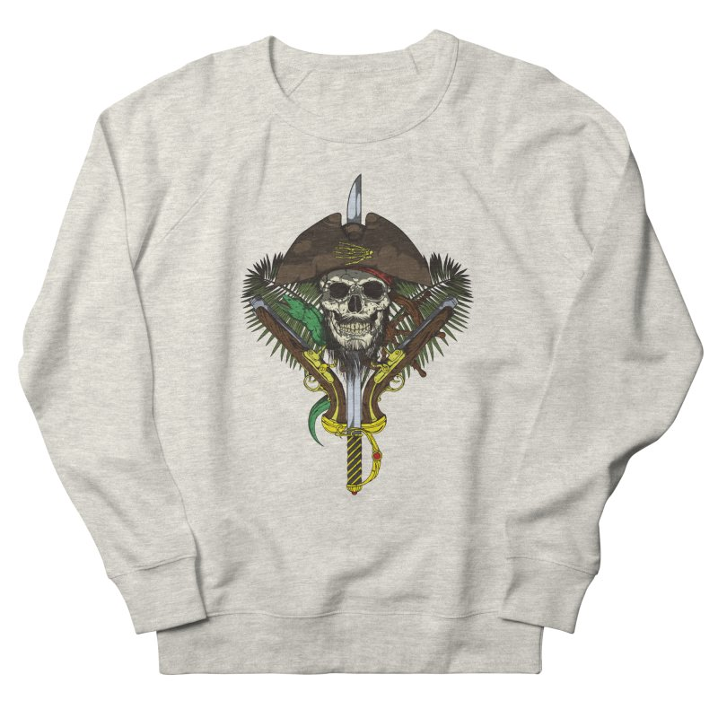 Pirate skull Men's Sweatshirt by juliusllopis's Artist Shop