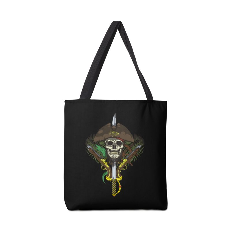 Pirate skull Accessories Bag by juliusllopis's Artist Shop