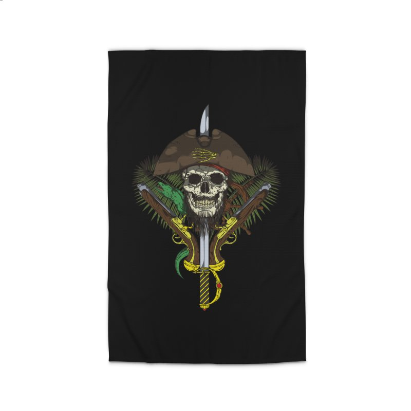 Pirate skull Home Rug by juliusllopis's Artist Shop