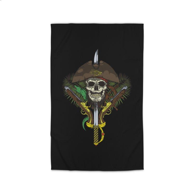 Pirate skull Home Rug by juliusllopis's Artist Shop