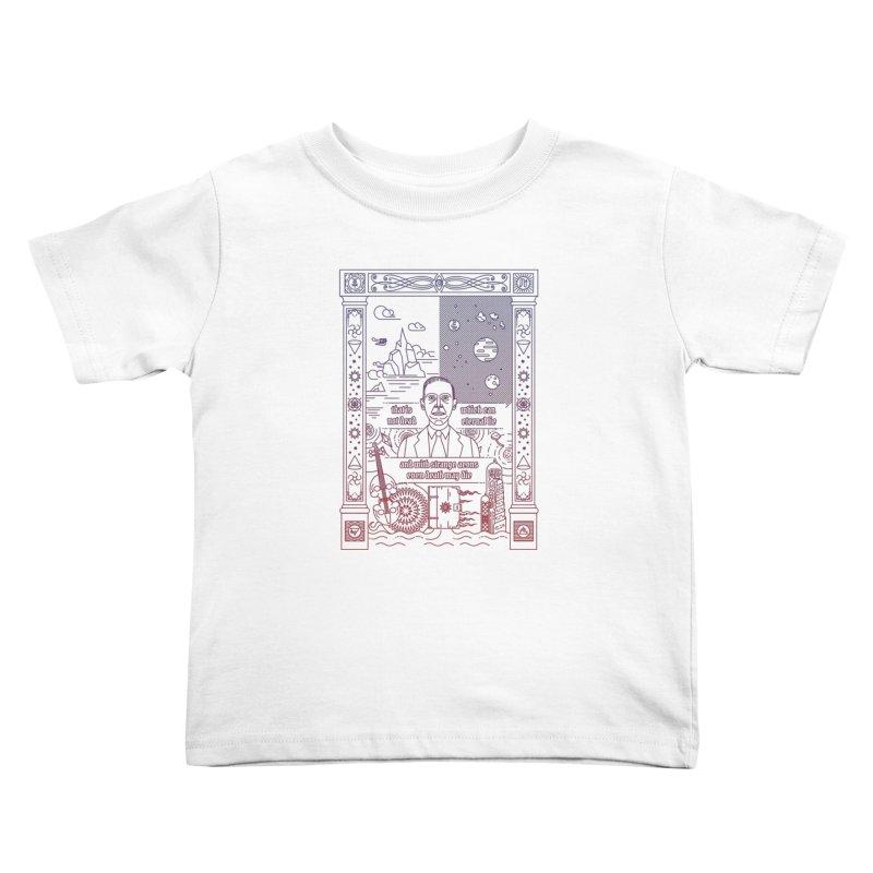 Lovecraft Kids Toddler T-Shirt by juliusllopis's Artist Shop