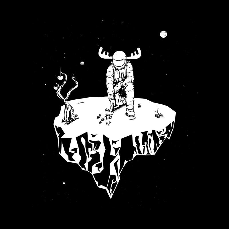 Astro moose Men's T-shirt by juliusllopis's Artist Shop