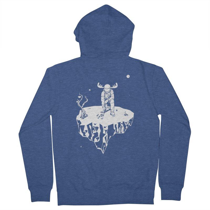 Astro moose Women's Zip-Up Hoody by juliusllopis's Artist Shop