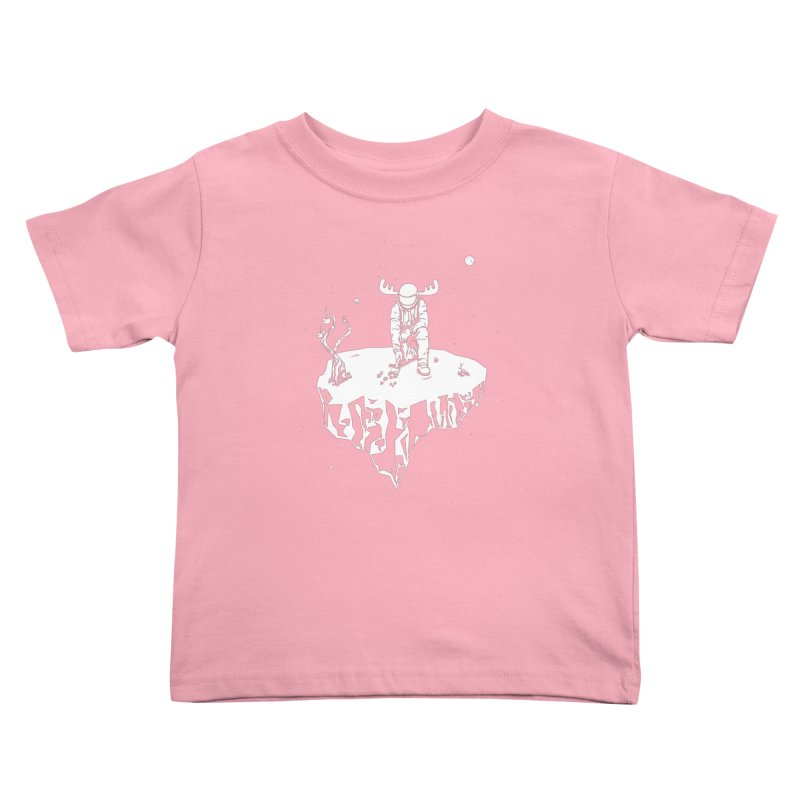 Astro moose Kids Toddler T-Shirt by juliusllopis's Artist Shop
