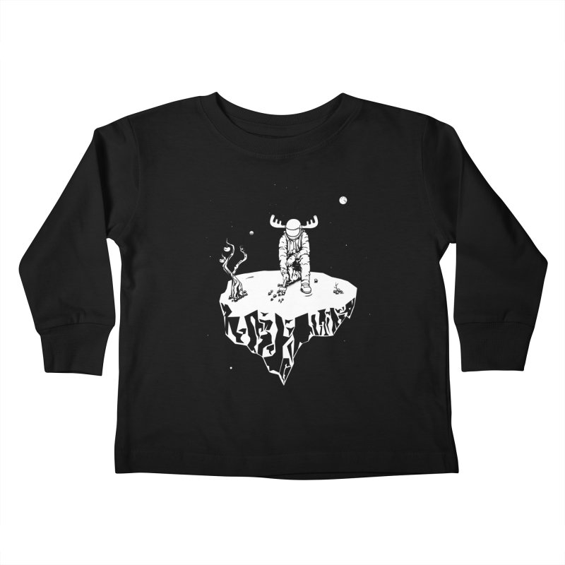 Astro moose Kids Toddler Longsleeve T-Shirt by juliusllopis's Artist Shop
