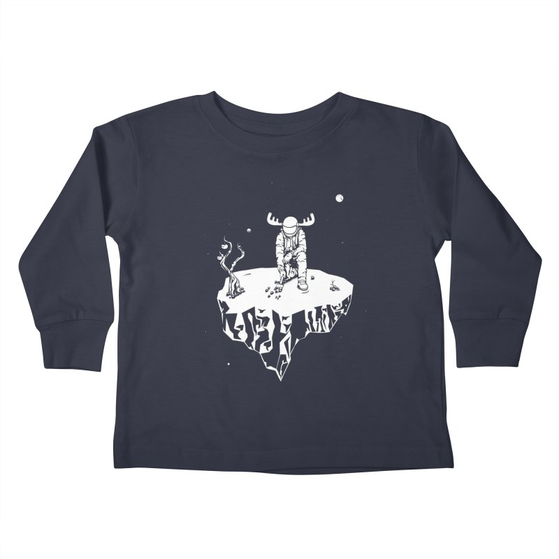 Astro moose Kids Toddler Longsleeve T-Shirt by juliusllopis's Artist Shop