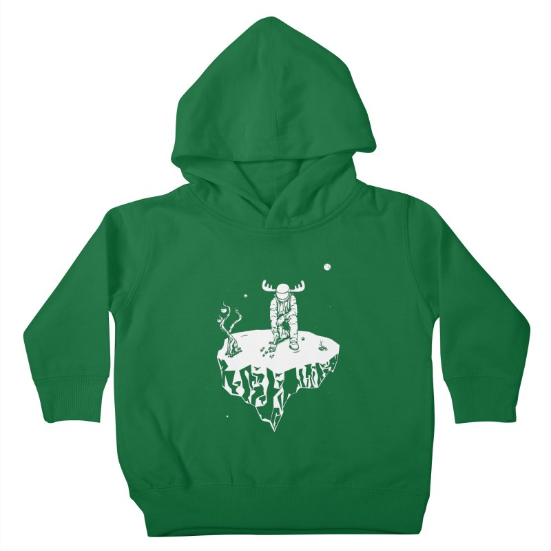 Astro moose Kids Toddler Pullover Hoody by juliusllopis's Artist Shop