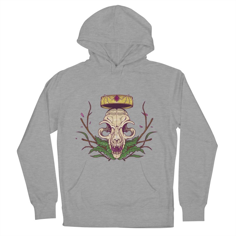 King bat Women's French Terry Pullover Hoody by juliusllopis's Artist Shop