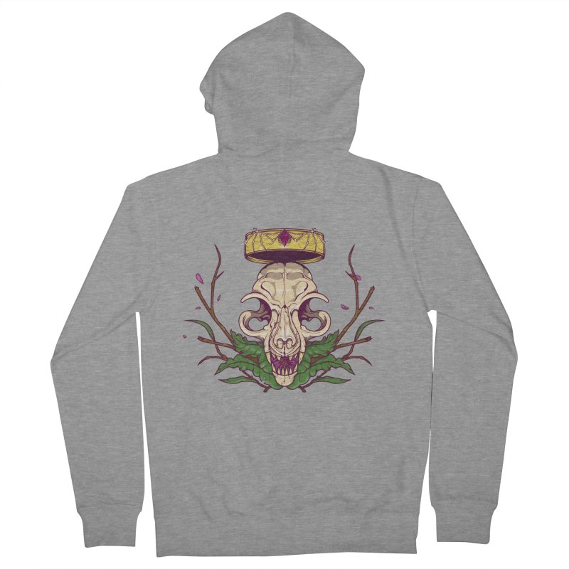 King bat Women's Zip-Up Hoody by juliusllopis's Artist Shop