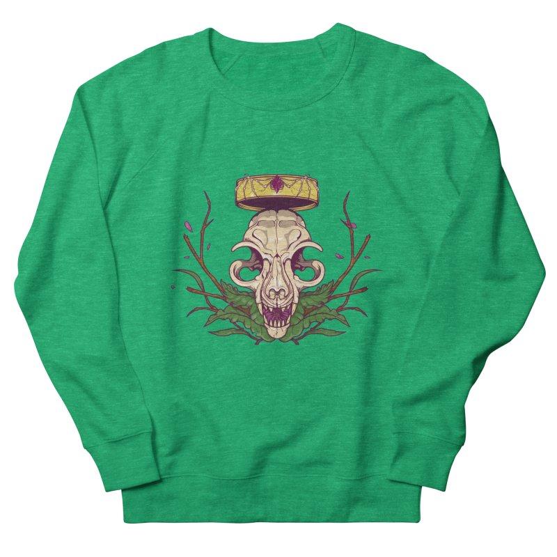 King bat Men's French Terry Sweatshirt by juliusllopis's Artist Shop