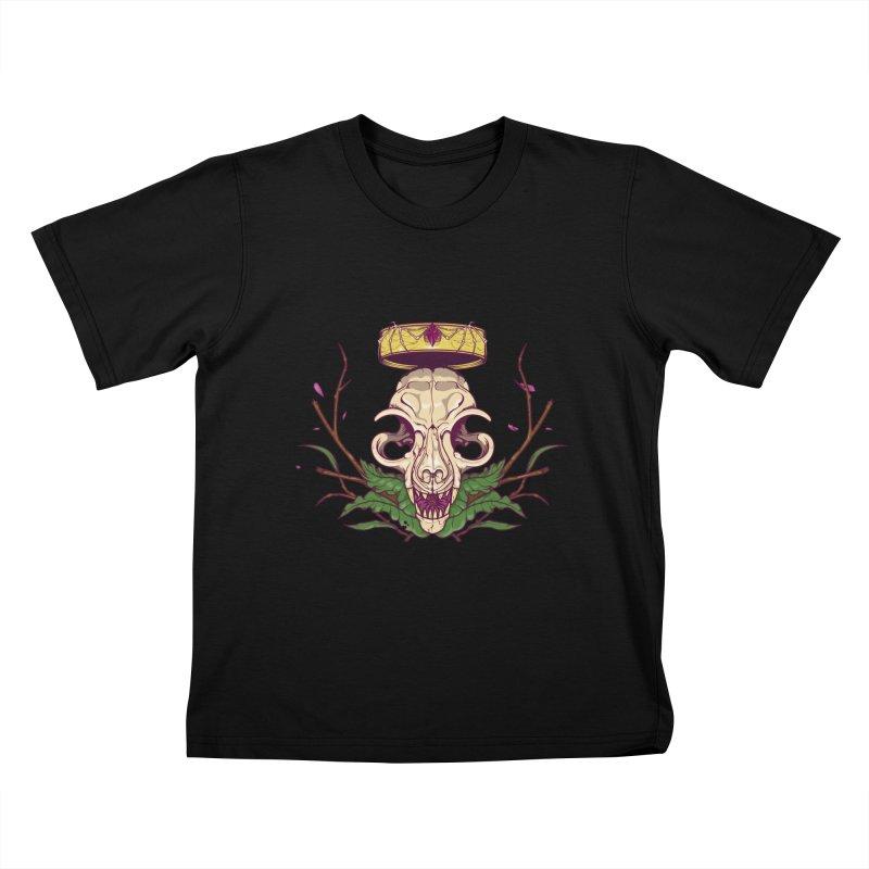 King bat Kids T-Shirt by juliusllopis's Artist Shop