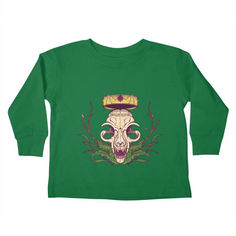 King bat Kids Toddler Longsleeve T-Shirt by juliusllopis's Artist Shop