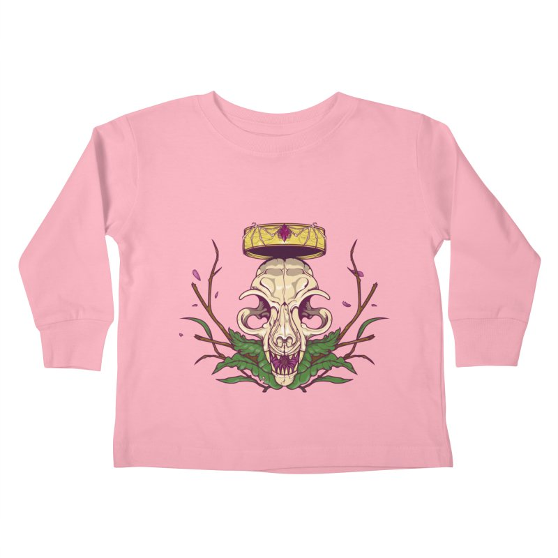 King bat Kids Toddler Longsleeve T-Shirt by juliusllopis's Artist Shop